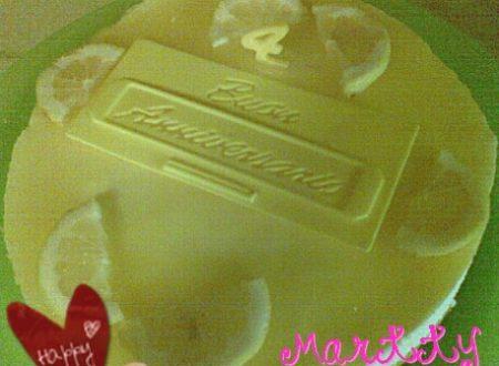 Cheesecake al Limone per Anniversario