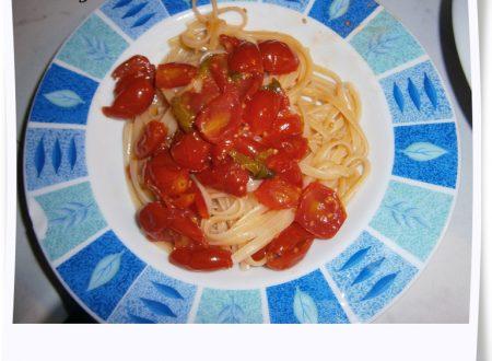 Linguine Pomodoro e Basilico