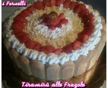 Torta Tiramisù alle Fragole